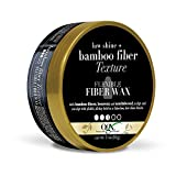 OGX Low Shine + Bamboo Fiber Texture Flexible Fiber Wax, 3 Ounce