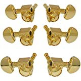 Grover 102-18G Rotomatic 18:1 3 per Side Machine Heads, Gold