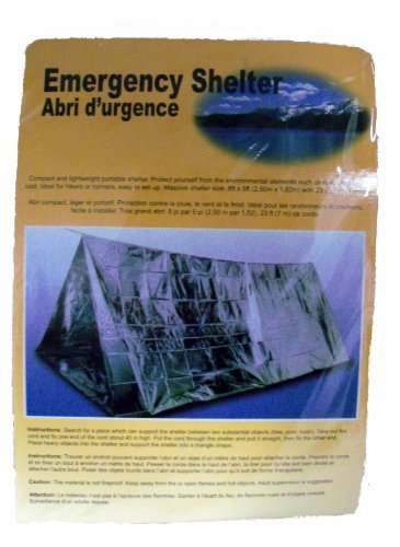 Cheap Emergency Shelter Tent, Reflective Tube Tent, Cold Weather Emergency Shelter 8 ft x 5 ft