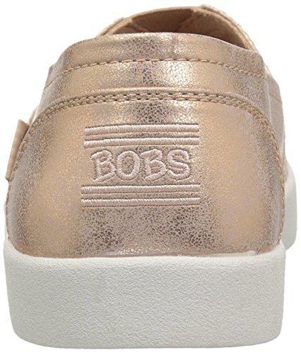 Gold Loved Rose Women's Ballet B Laser Bobs Flat Metallic Cut Skechers qTvtFgg