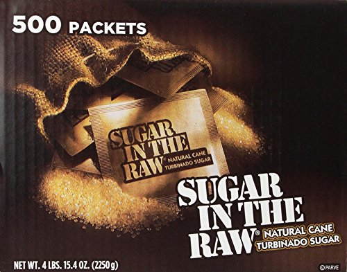 (Sugar in the Raw / Raw Sugar Natural Cane Turbinado,500 Count,Pack of 1)