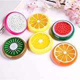 Crystal Fruit Clay Rubber Mud Hand Gum Plasticine Slime stuff scents Kid adults relax Toy set diy kit 6PC