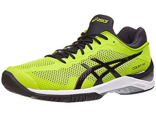 ASICS Unisex-Adult Court FF Shoes, Size: 4.5 D(M) US, Color Sulphur Springs/Black