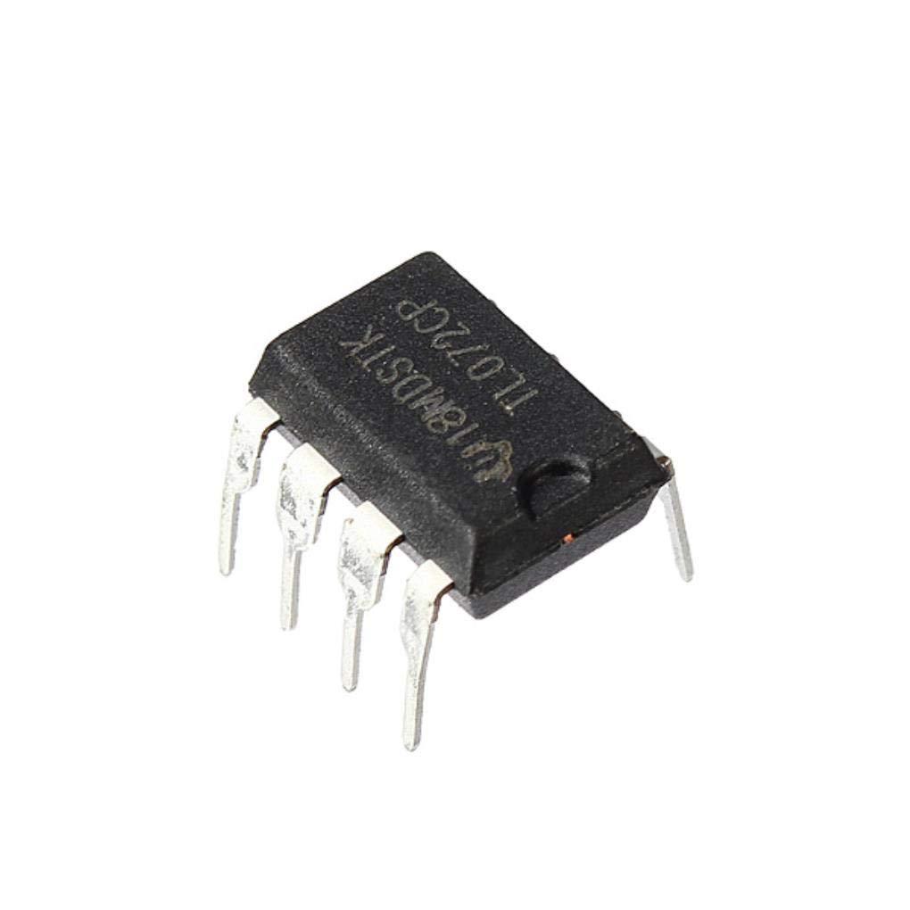 100pcs TL072 TL072CP DIP8 Chorus Delay Amplificadores Operacionales IC chips: Amazon.es: Electrónica