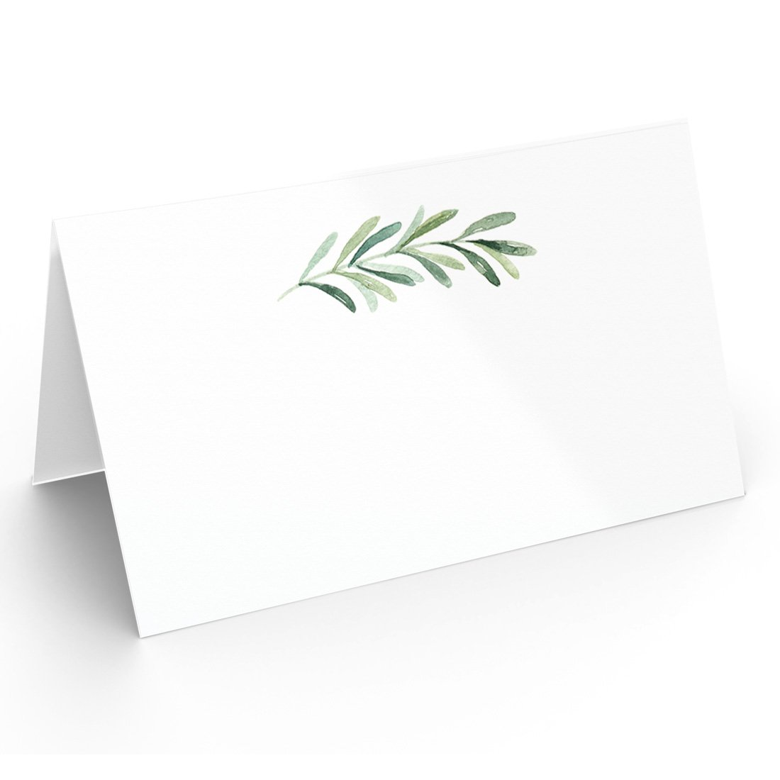 25 Table Place Cards | Elegant Branch Style | Perfect for Weddings, Holidays, Dinner Parties, Birthdays, Buffets and Catering Printed Party