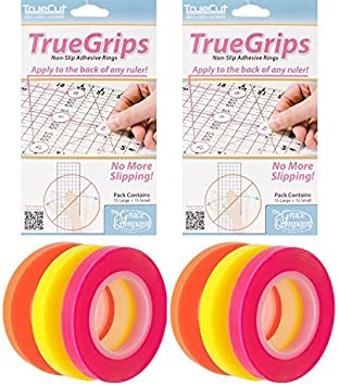 10 Sheet Silicone O-Ring Gasket Quilt Ruler Non-slip Grip Rings for Patchwork