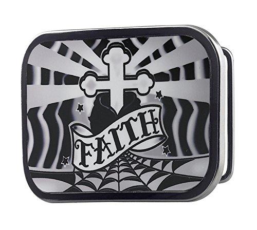 Faith Buckle (Buckle Down Cross and Faith Belt Buckle,)