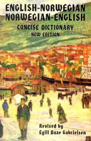 Norwegian-English/English-Norwegian Dictionary