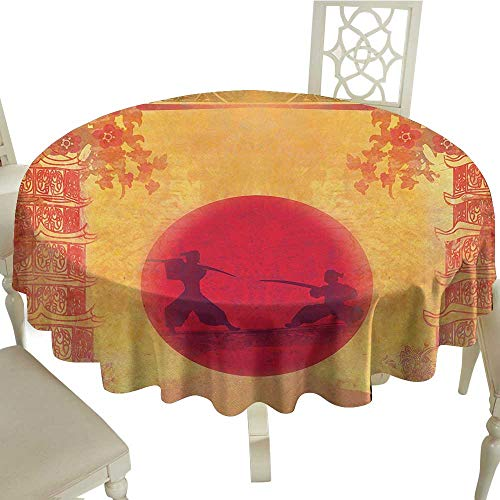 (Japanese Tablecloth Sizes Round D 50