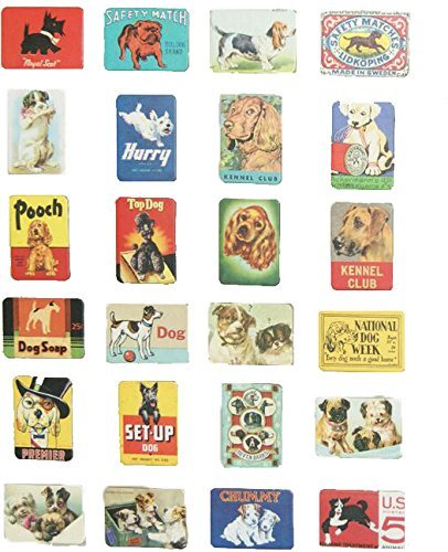 Refrigerator magnets set of 24 dog lover souvenirs magnetic fridge magnet home decoration accessories arts paste crafts