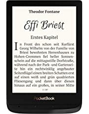 PocketBook e-Book Reader 'Touch Lux 4' (8 GB Speicher; 15,24 cm (6 Zoll) E-Ink Carta Display; Wi-Fi) in Obsidian Black