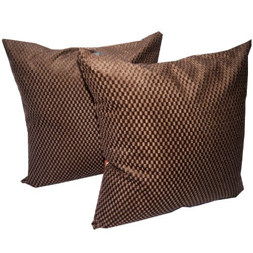 'HelloThailand' (DOUBLE) 2 BEAUTIFUL THROW CUSHION COVER/PILLOW CASE COTTON & POLYGISTER FOR DECORATIVE SOFA,...