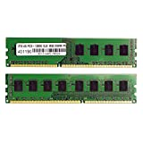VisionTek 8GB (2x4GB) DDR3 1600 MHz (PC3-12800) CL9 DIMM Kit, Desktop Memory - 900626