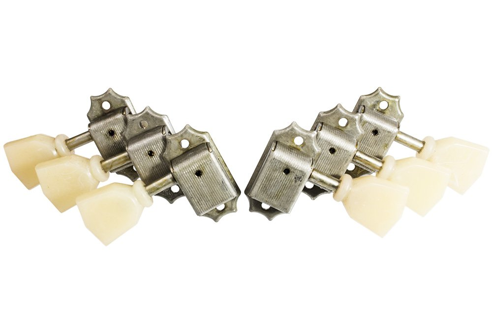 Q-Parts Aged Collection Relic Guitar Tuners/Tuning Machine Heads for Les Paul