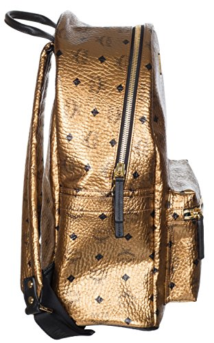 MCM Unisex Gold Weekender Visetos Backpack Bag by MCM (Image #2)