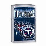 Zippo Tennessee Titans High Polish Chrome Lighter