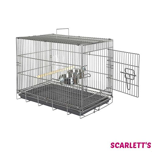 Sky Pet Products Large Travel Cage