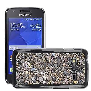 Etui Housse Coque de Protection Cover Rigide pour // M00152980 Piedras del guijarro guijarros // Samsung Galaxy Ace4 / Galaxy Ace 4 LTE / SM-G313F