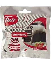 Fair polishing sponge - strawberry- for car
