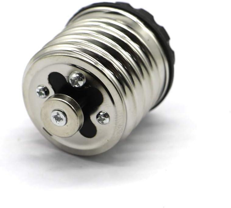 PCTC E40 to E27 Screw E27 to E27 Conversion Lamp Head Screw Conversion Lamp Holder Light Sockets