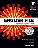 img - for English file elem sb+wb w/k pk 3ed book / textbook / text book