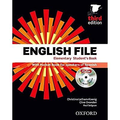 English file elem sb+wb w/k pk 3ed
