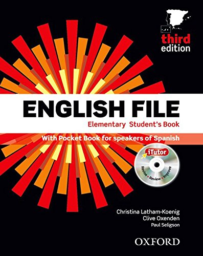 English file elem sb+wb w/k pk 3ed