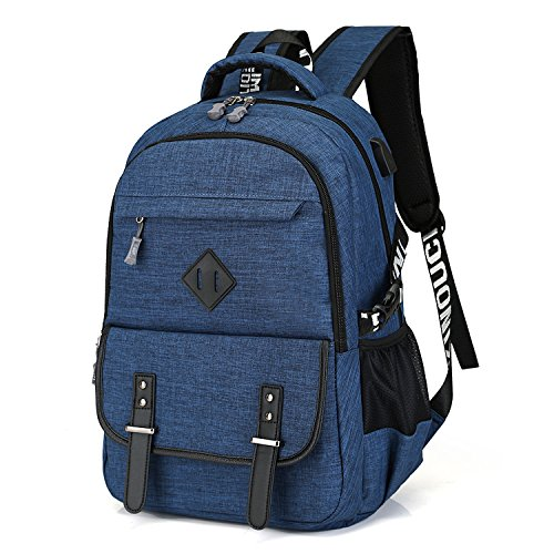 Water Resistance Business Computer Backpack with Usb Char...