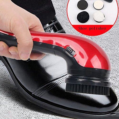 argent à Cireuse Rouge à automatique QFFL Cireuse 22 Cireuse main électrique à à chaussures  chaussures Cireuse chaussures XAwx1cqxZg