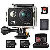 Maifang Sports Camera, Waterproof 4K WIFI Action Camera With Remote, 2.0 Inch LTPS...
