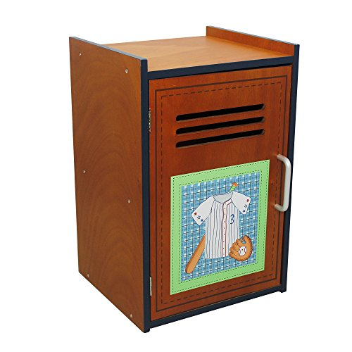Fantasy Fields - Lil' Sports Fan Thematic Wooden Cabinet for Kids Storage | Imagination InspiringHand Crafted & Painted Details   Non-Toxic, Lead Free Water-based Paint