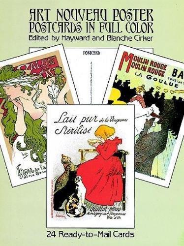 - Art Nouveau Posters: 24 Cards (Dover Postcards)