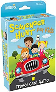 Briarpatch Travel Scavenger Hunt Card Game for Kids, Activities for Family Vacations, Road Trips and Car Rides, Ages 7 and U