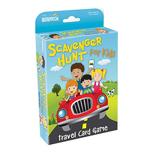 Travel Scavenger Hunt Card Game - Flip Tray Seat