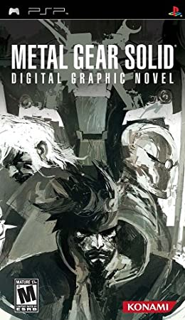 Metal Gear Solid: Digital Graphic Novel - Sony PSP