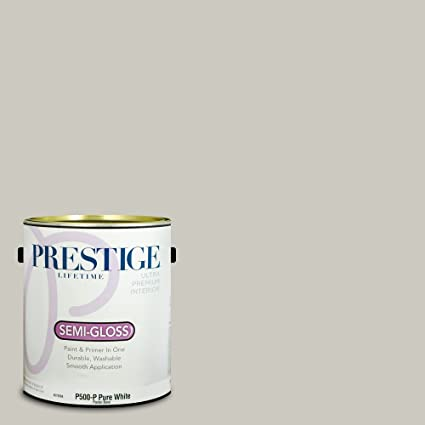 Prestige Paints Interior Paint And Primer In One, 1 Gallon, Semi Gloss