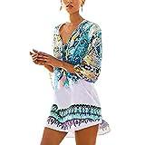 Womens Cover up Bohemia Tassel Swimsuit Beachwear Bikini Dress,Free...