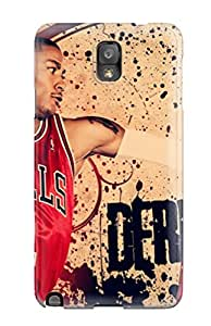 Forever Collectibles Abstract Nba Basketball Derrick Rose Chicago Bulls Hard Snap-on Galaxy Note 3 Case