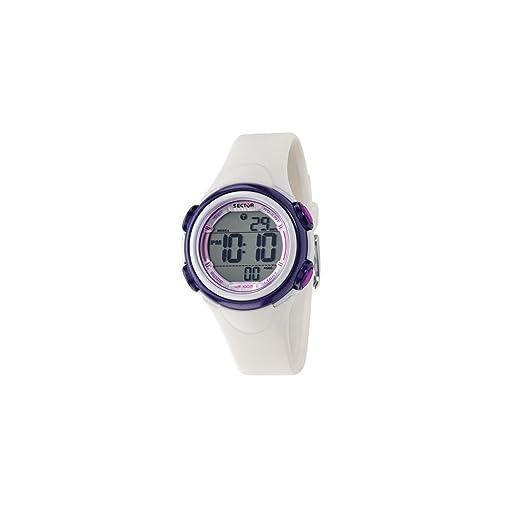 SECTOR NO LIMITS Reloj Digital para Mujer de Cuarzo con Correa en PU R3251591502: Sector: Amazon.es: Relojes