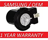 Appliances : New OEM Original Samsung DC31-00054A Washer Drain Pump AP4202690,1534541, PS4204638, DC31-00016A - 1 YEAR WARRANTY by PrimeCo