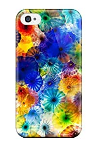 Forever Collectibles Flower Hard Snap-on Iphone 4/4s Case by heywan