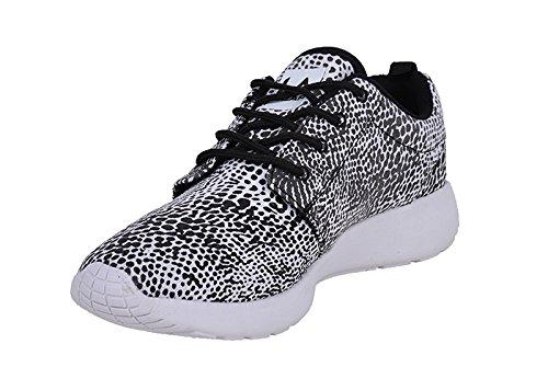 L. A. GEAR Sunrise REPTILE Sneaker / TURNSCHUHE - Black / White Rockabilly