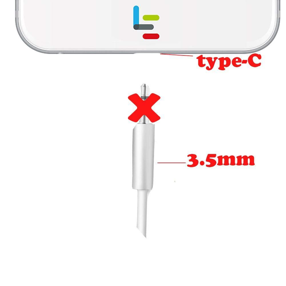 adattatore per cuffie USB C a cuffie stereo adattatore audio da 3.5/mm Letv 2/2PRO MAX2/Pro 3/Xiaomi 6/ KAIROSF 1/PC
