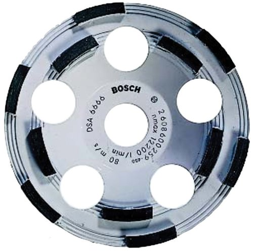 Bosch DC510 5-Inch Diamond Cup Grinding Wheel for - Bosch Wheel Grinding