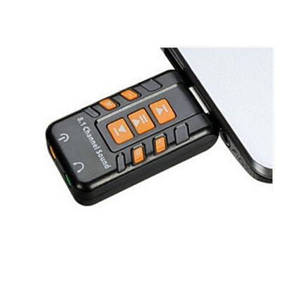 Sharplace USB DAC Auriculares Amplificadores para PC Equipo Tarjeta de Sonido 8.1 CH Virtuales Blanco: Amazon.es: Electrónica