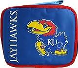 NCAA Kansas Jayhawks Insulated Lunchbox, Blue