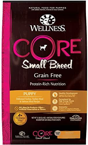 Dog Food: Wellness CORE Puppy Small Breed