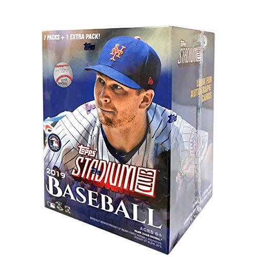 Stadium Club - Topps 2019 Stadium Club Baseball Blaster Box (8 Packs/5 Cards)