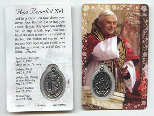 (Pope Benedict XVI Prayer Card)