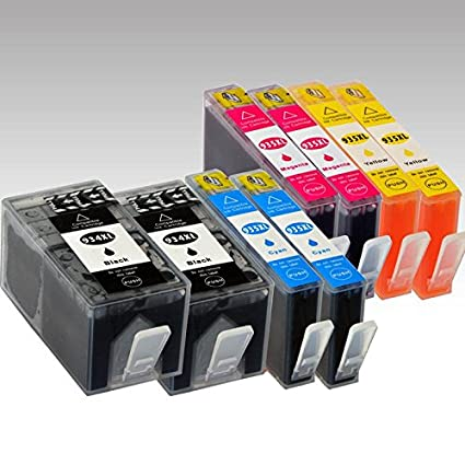 8 x Cartuchos de Tinta para Officejet: Officejet Pro: 6815 e-AiO ...